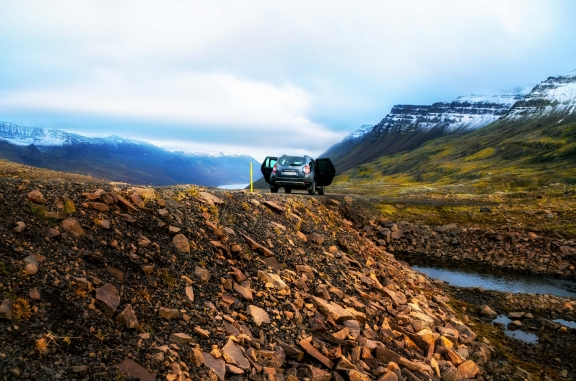 Iceland Mjoifjordur