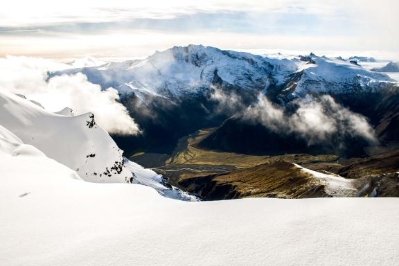 vatnajokull peak