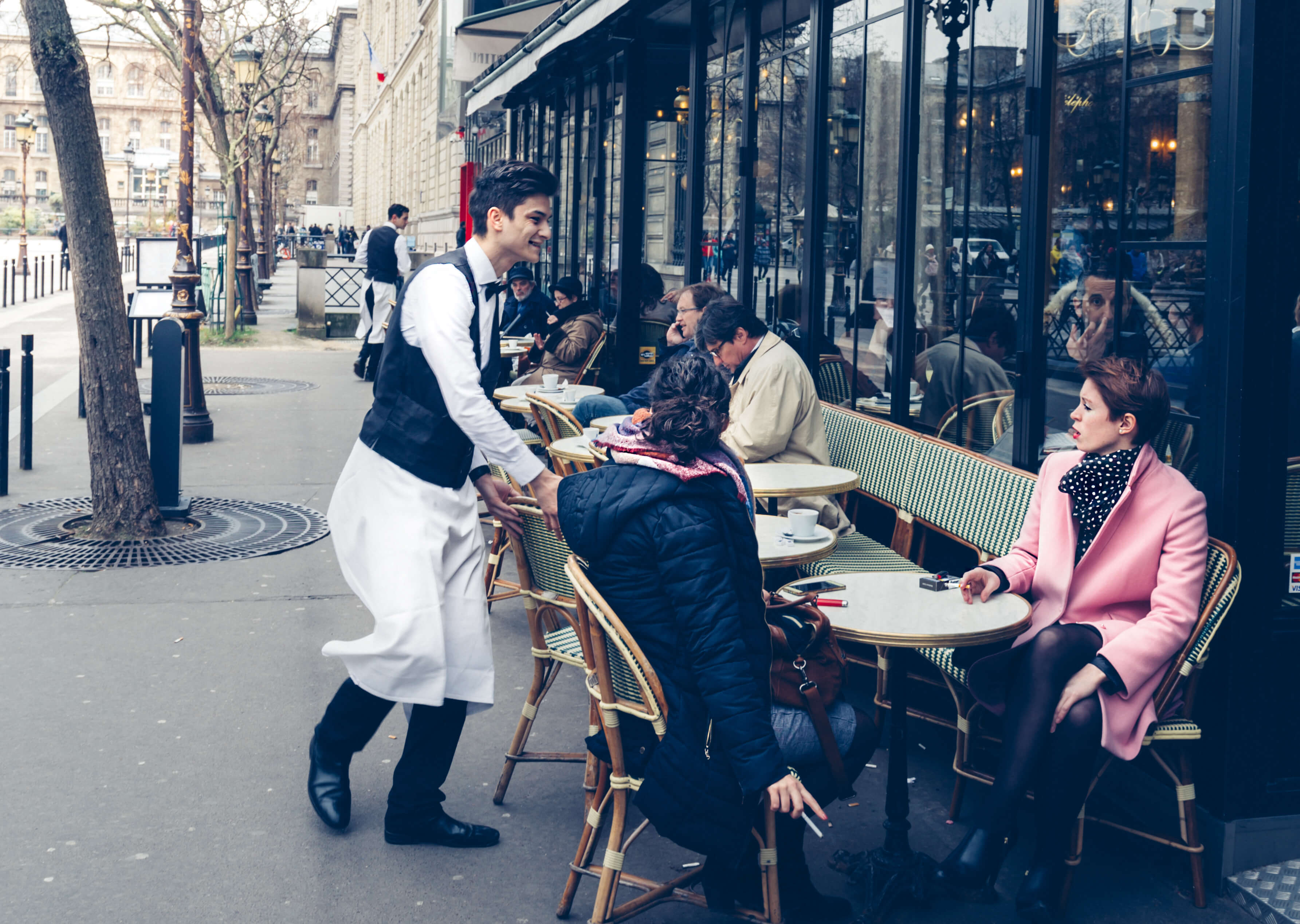 THE FRENCH CAFE STARS IN ALL PARIS TRIPS