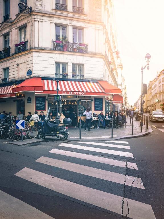Paris marais bistro