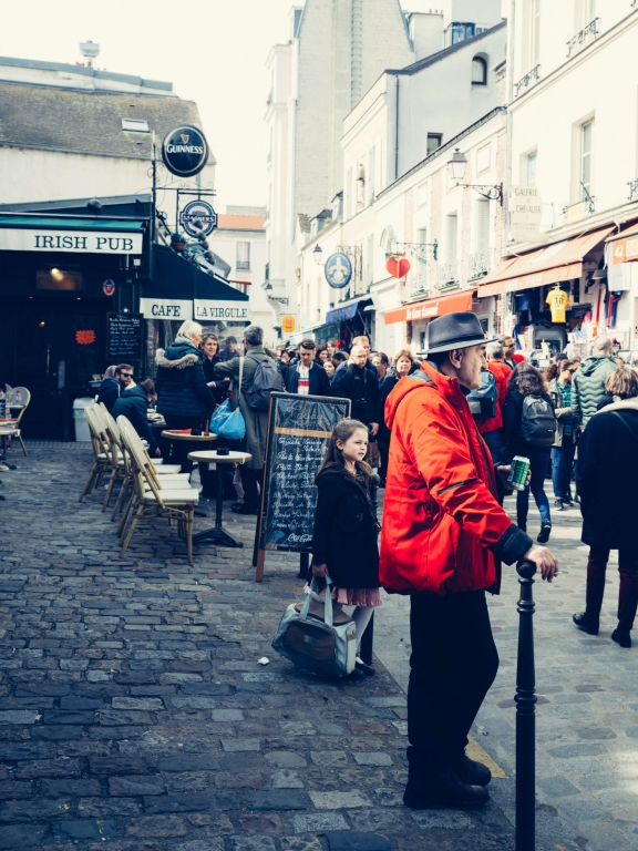 Paris oldman