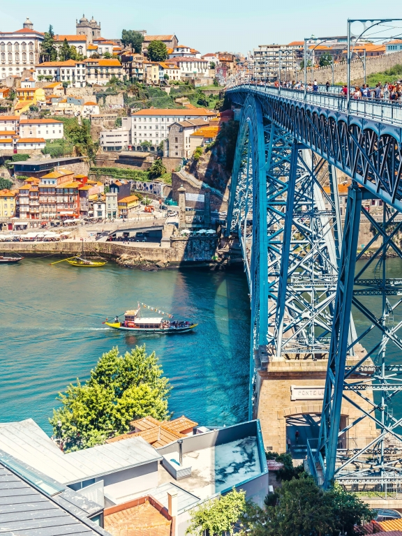 Portugal Porto Bridge