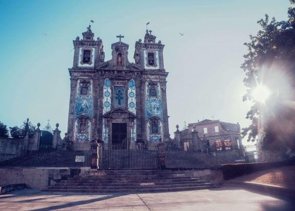 Portugal Porto Saint Ildefonso Church