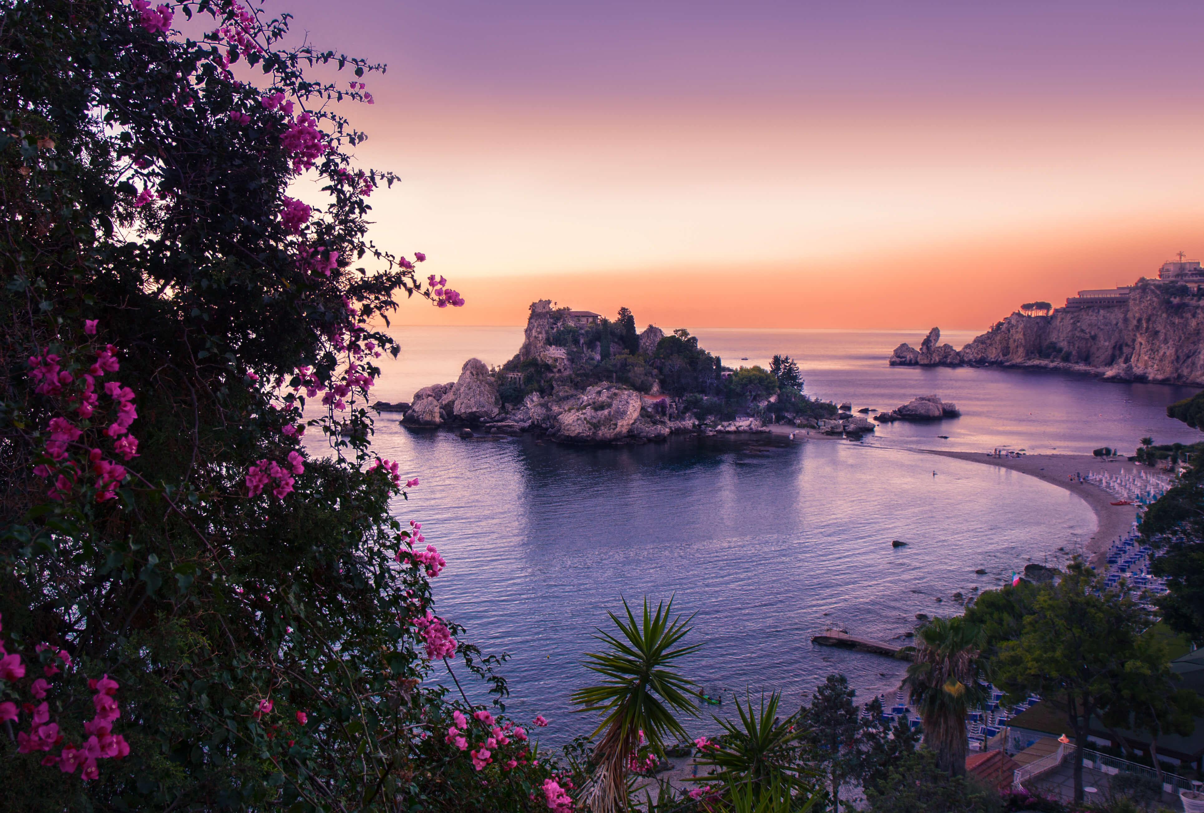 Sicily-isola-sunset