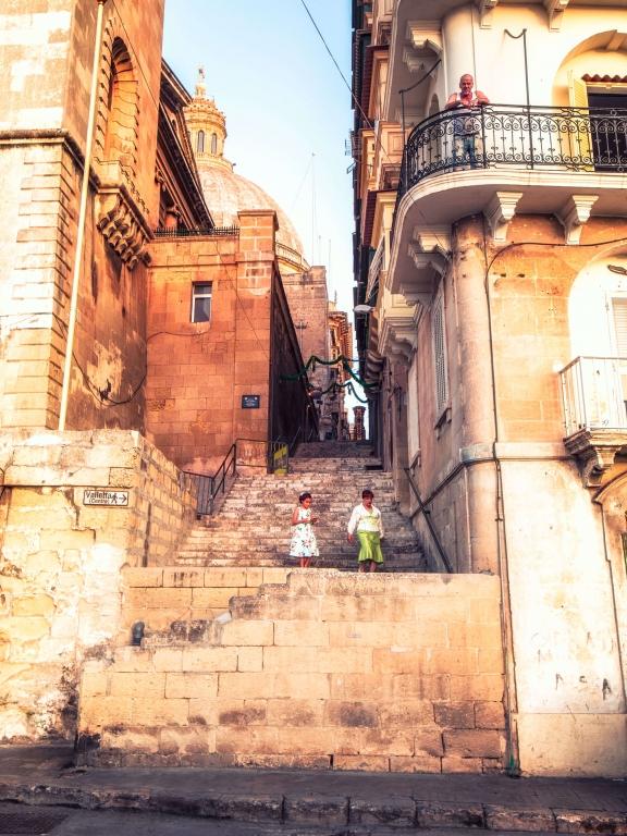 MALTA_Valletta_steps